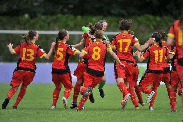 De jeugd, de toekomst van het Belgische vrouwenvoetbal, was talrijk aanwezig op het Live Your Goals Foot Festival - FOTO - David Catry