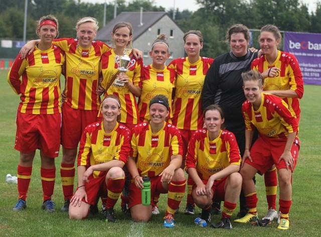 K. Massenhoven VC won voor het eerst dit seizoen in eerste klasse! Foto - Paul Dijkmans