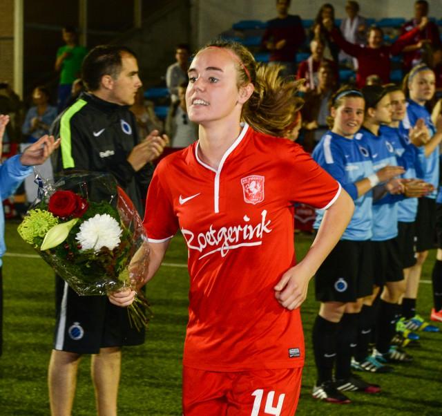 Jill Roord van FC Twente is voorlopig topschutter in Nederland! Foto - David Catry
