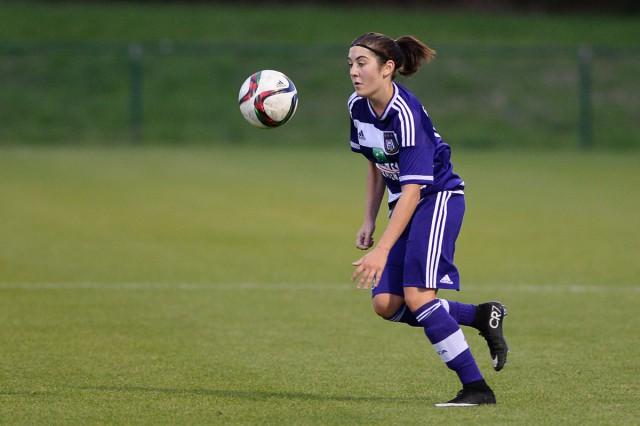 Noémie Gelders zorgde nu ook voor twee goals bij RSC Anderlecht B! Foto - David Catry