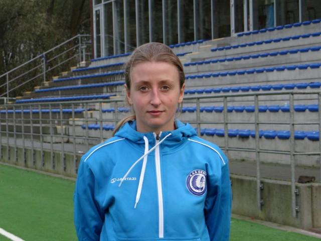 De nieuwkomer van KAA Gent Ladies: Marie Schepers! (c) KAA Gent Ladies