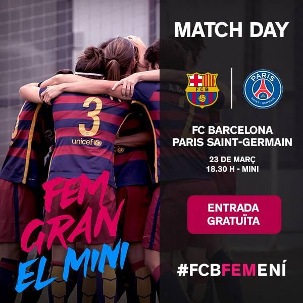 Gratis toegang voor kwartfinale UWCL in Barcelona! Foto - (c) FC Barcelona