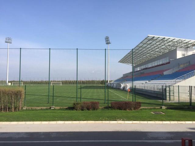 Het veld van het Stara Pazova Centar! Foto - (c) SF