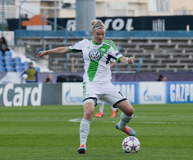 Alexandra Popp opnieuw succesvol bij VfL Wolfsburg! Foto - David Catry