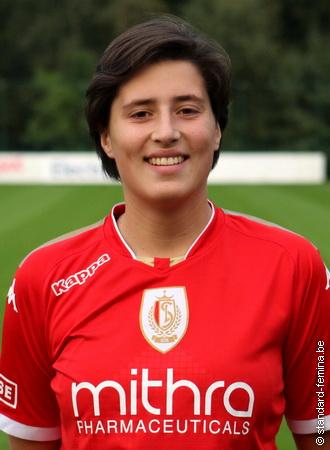 Jasmine Verbruggen, de maker van 7 goals! Foto - (c) Standard-Femina.be