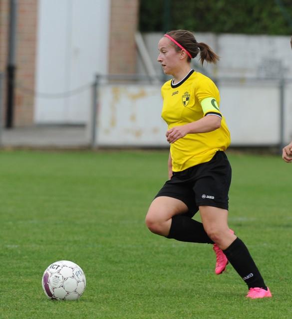 Annemie Liefooghe lukte de 3-1 voor het beloftenteam van Lierse tegen Kontich! Foto - Dirk Vuylsteke