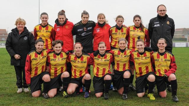 KV Mechelen, de kampioen in derde klasse A! Foto - Dirk Vuylsteke
