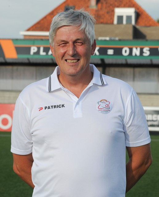 Jean-Marie Saeremans, de afscheidnemende coach van SV Zulte Waregem! Foto - David Catry