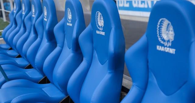 De UEFA Europa League komt voor het eerst langs in de Ghelamco Arena van KAA Gent! Foto - Sportpix.be/David Catry