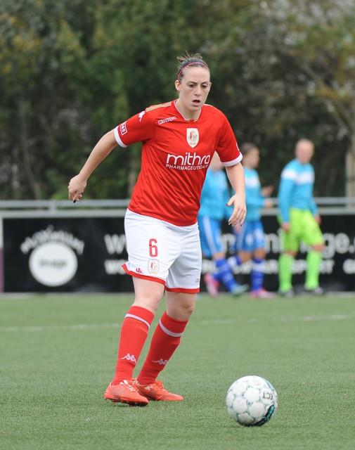 Britt Vanhamel verlaat kampioen Standard voor een nieuw avontuur bij OH Leuven! Foto - Sportpix.be/Dirk Vuylsteke