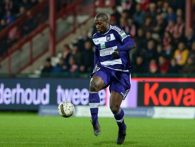 Stefano Okaka moet met RSC Anderlecht via de voorrondes het kampioenenbal proberen te bereiken! Foto - Sportpix.be/David Catry