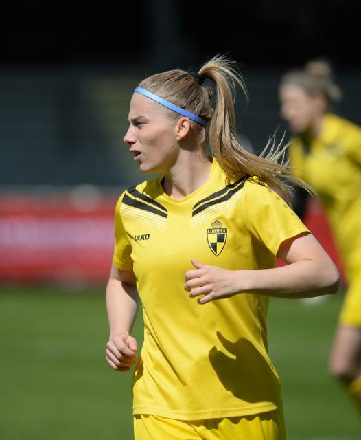 Jana Coryn, de eerste topschutter van de Super League! Foto - Sportpix.be/Dirk Vuylsteke