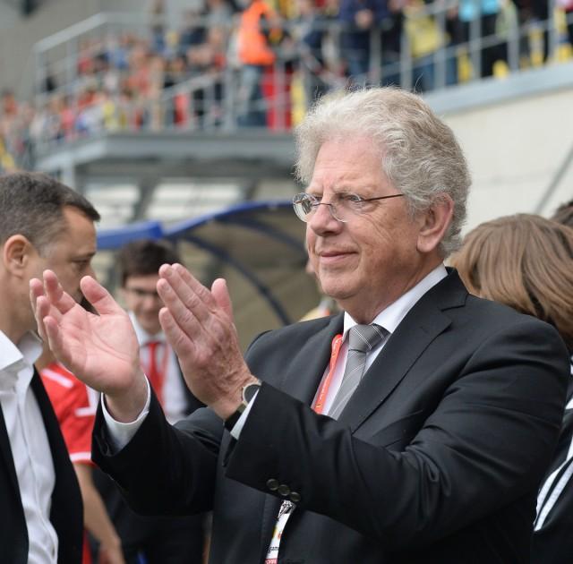 Marc Lesenfants, de voorzitter van het vrouwenvoetbal in België, is zich bewust van de problemen rond de Super League! Foto - Sportpix.be/David Catry