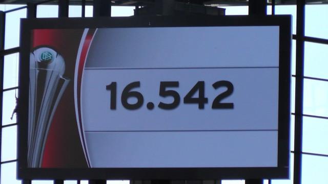 Het toeschouwersaantal voor de Duitse bekerfinale bij de vrouwen! Foto - MaMPict