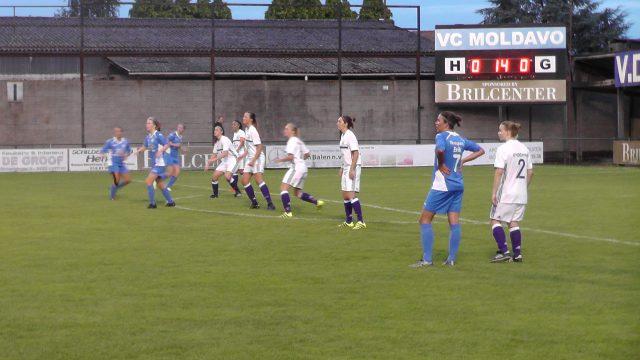 Een avondwedstrijd in eerste klasse tussen VC Moldavo en het beloftenteam van RSC Anderlecht!