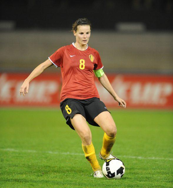 Femke Maes speelde al bij WIllem II toen Rapide Wezemaal de kwartfinales van de UEFA Women's Cup haalde! Foto - Sportpix.be / David Catry