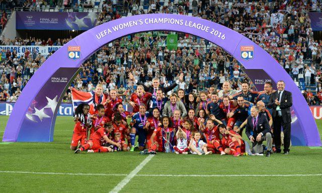 Lyon begint aan de titelverdediging van de UWCL in Noorwegen! Foto - Sportpix.be/David Catry