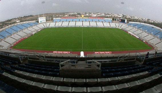 Het GSP Stadion van Nicosia niet onbekend voor de Rode Duivels die er begin september 2016 nog een WK-kwalificatieinterland speelden! Foto - (c)  The Stadium Guide!