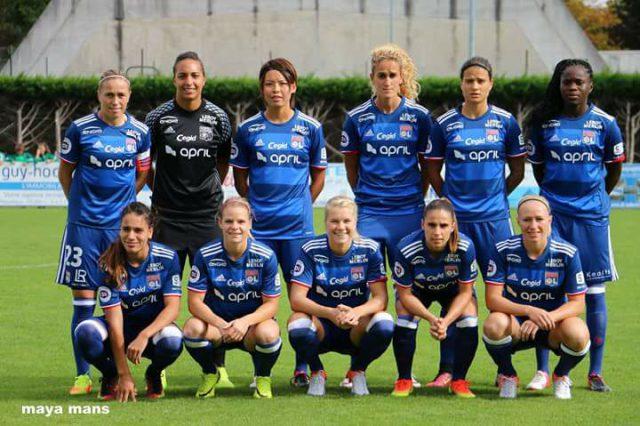 Olympique Lyonnais voor het tweede jaar op rij de ploeg van het jaar volgens de IFFHS! Foto - (c) Vrouwenteam.be/Maya Mans