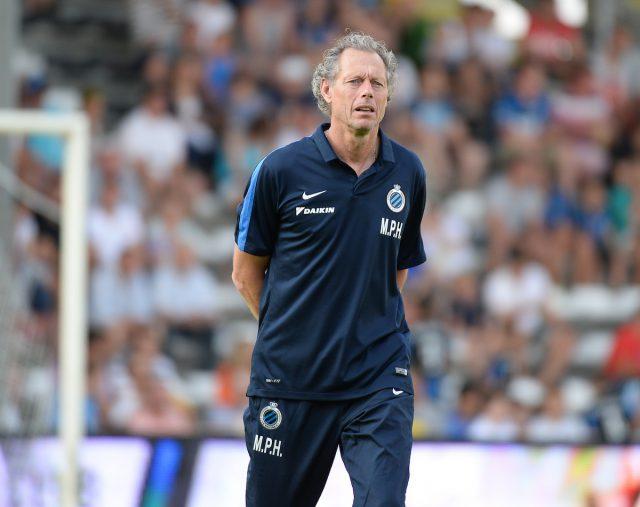 Michel Preud'homme dankzij de titel met Club Brugge in 2016 de op een na beste coach! Foto - (c) Sportpix.be / David Catry
