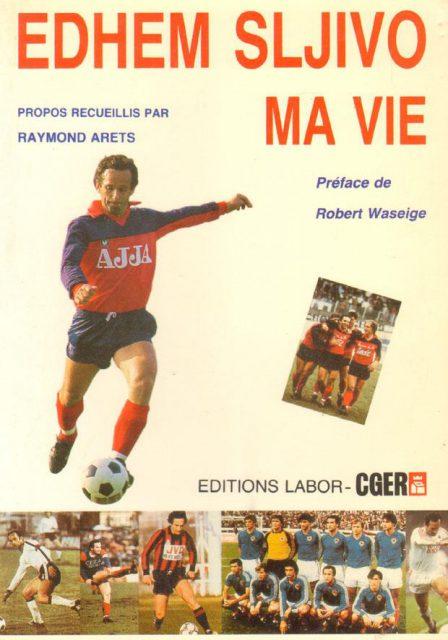 Het boek rond de balvirtuoos van RFC Luik! Foto - (c) Sportsmemories.be