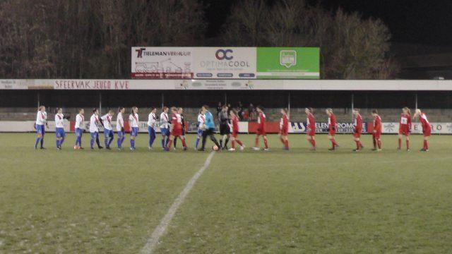 Bijna klaar voor de aftrap Club Brugge en KVK Svelta Melsele in Aalter! Foto - (c) Vrouwenteam.be /  MaMPict