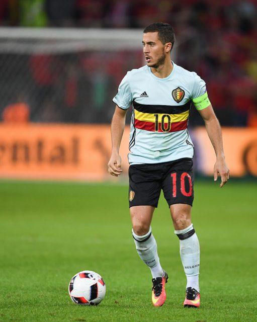 Rode Duivel Eden Hazard haalde minder punten dan Belgian Red Flame Tessa Wullaert! Foto - (c) Sportpix.be / David Catry
