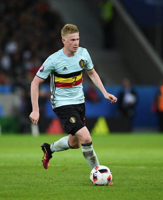 Kevin De Bruyne eerste Belgische voetballer bij de verkiezing van Sportman van het jaar 2016! Foto - (c) Sportpix.be / David Catry